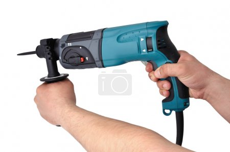 Perforator in hand