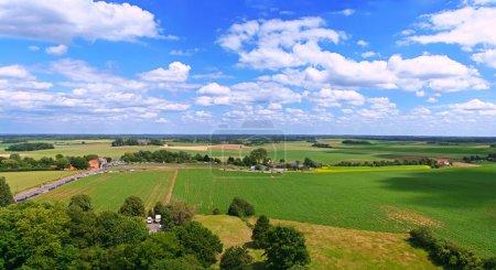 Waterloo view of battle field