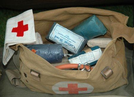 World War 2 Army First Aid Bag