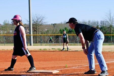 Coaching Girl's Softball