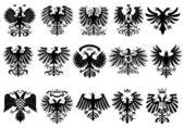 Heraldic eagles