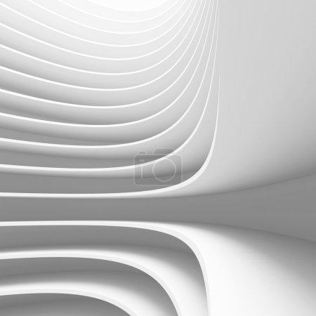 Photo pour Illustration 3D de la conception de l'architecture conceptuelle - image libre de droit