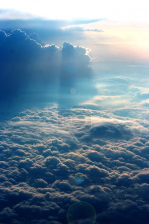 Photo for A view from high above the clouds - Royalty Free Image