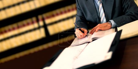 Photo for Lawyer working - Royalty Free Image