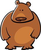 Cartoon doodle of bear