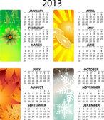 Calendario vettoriale 2013