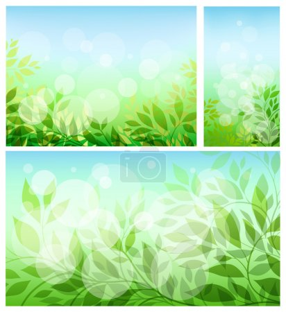 Set abstract background