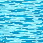Seamless marine wave patterns...