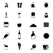 Food and drink icons for party occasion and others