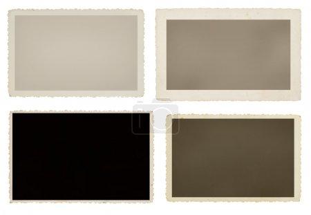 Blank vintage picture frames