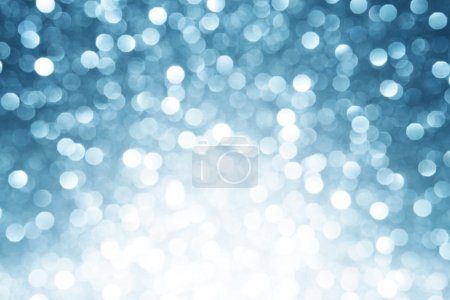 Photo for Winter bokeh christmas background - Royalty Free Image