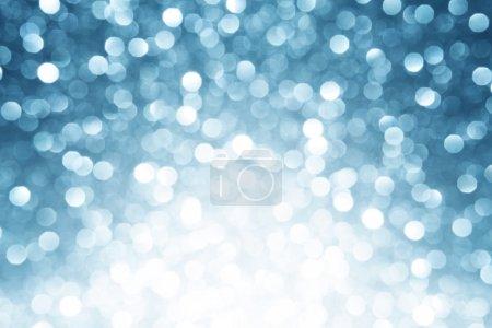 Blue defocused lights background