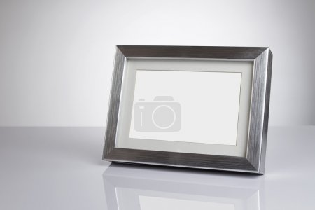 Blank picture frame with clipping path