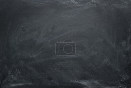 Photo for Blank chalkboard, blackboard texture with copy space - Royalty Free Image