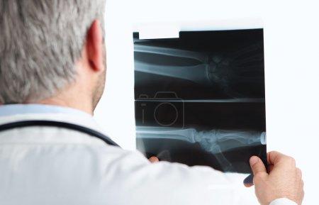 Checking an x ray