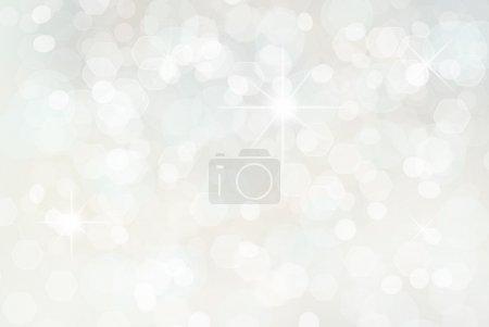 Foto de Fondo blanco de vacaciones de Navidad. - Imagen libre de derechos