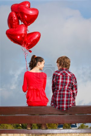 Photo for Valentines day couple - Royalty Free Image