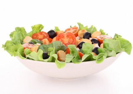 Photo for Isolated mixed salad - Royalty Free Image