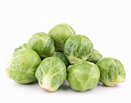 Photo for Isolated brussels sprouts - Royalty Free Image