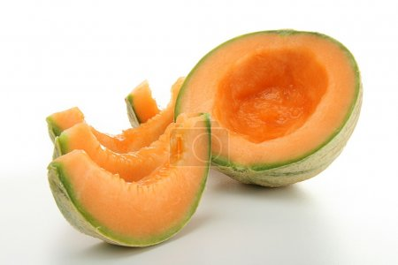 Photo pour Melon isolé - image libre de droit