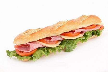 Isolated sandwich...