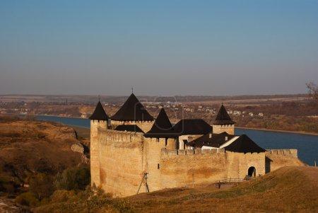 Ancient forress in Khotyn, Ukraine