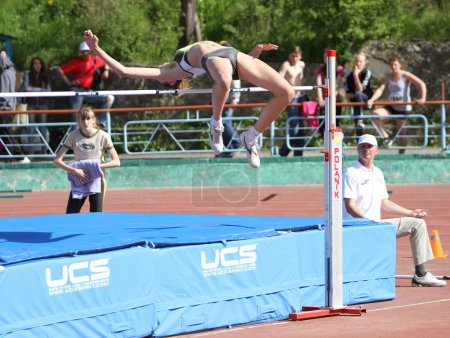 High jump competition