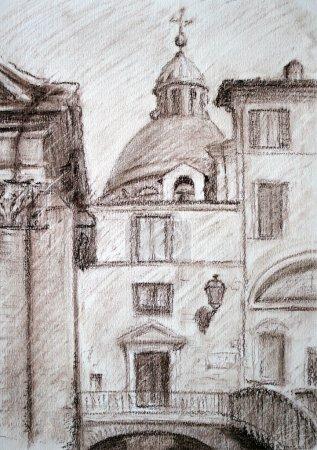 Roman cityscape