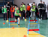 Unidentified children on IAAF Kid's Athletics competition