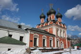 Moscow. Highly Petrovsky Monastery. The temple in honor of Our Lady Mother Bogoliubsk.
