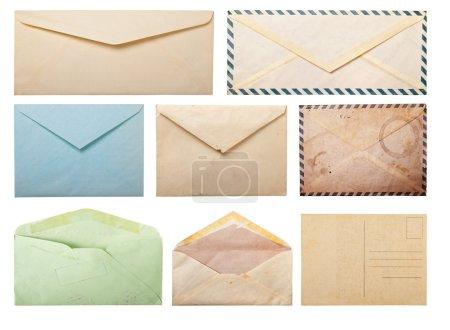 Old envelopes and postcard.