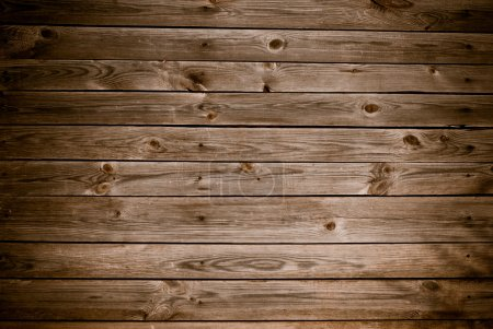 Photo for Old wooden building fence background - Royalty Free Image