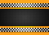 Taxi cab background racing blank template