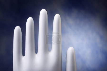 Mold for hand glove