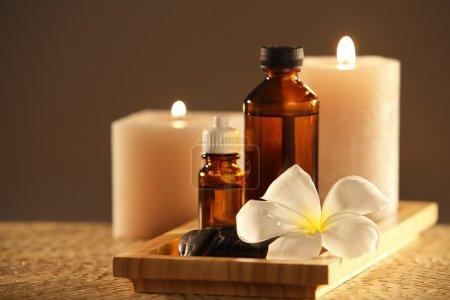 Photo pour Photo de Studio de la notion aromateraphy - image libre de droit