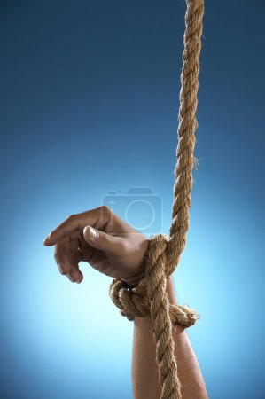 Hang tight by rope