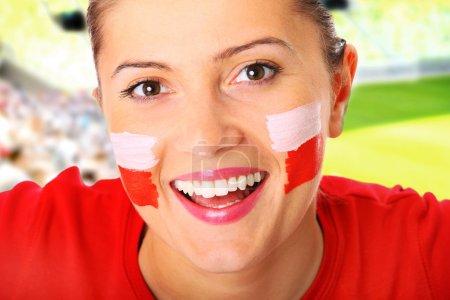 Polish football fan