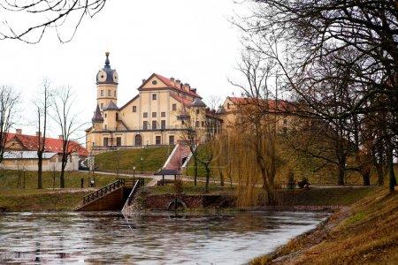 Photo pour Vue du château de Nesvizh en Biélorussie - image libre de droit