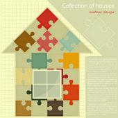 Puzzle house Concept - Construction