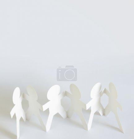 Paper doll team