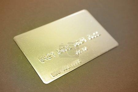 Foto de Closeup de tarjeta de crédito - Imagen libre de derechos