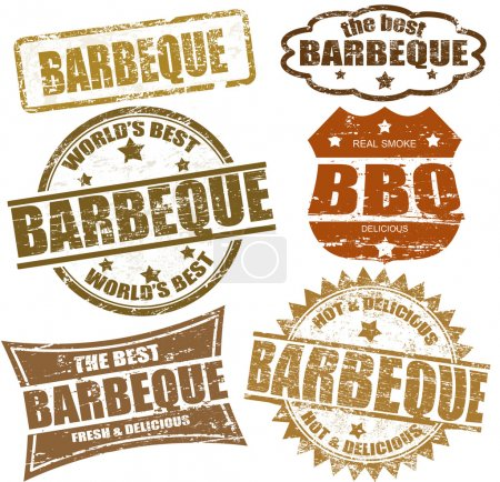 Barbeque stamps