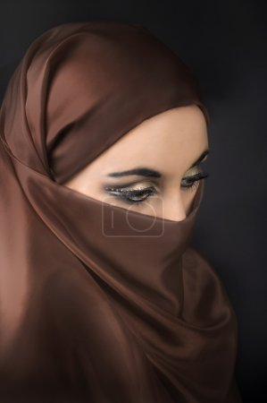 Photo for Portrait of a young muslim girl - Royalty Free Image