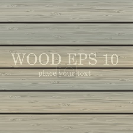 Illustration for Wood background for your design - Royalty Free Image