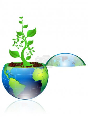 Illustration of Environmental concept...