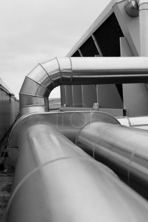 Large ventilation duct
