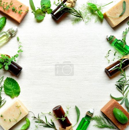 Herb and aromatherapy supplies