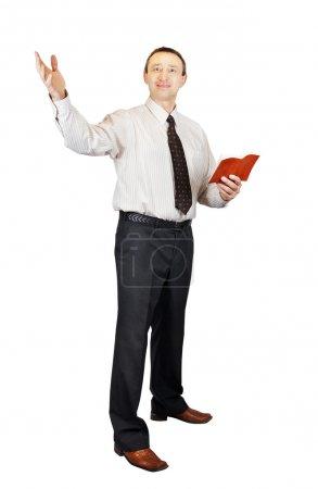 Speaking preacher