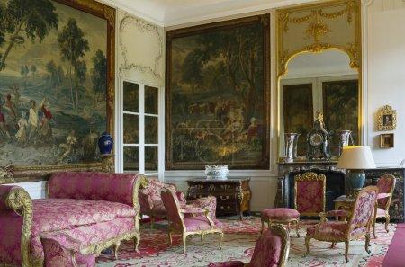 The Marshals' room, Beloeil Castle