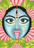 Kali - Indian Goddess face